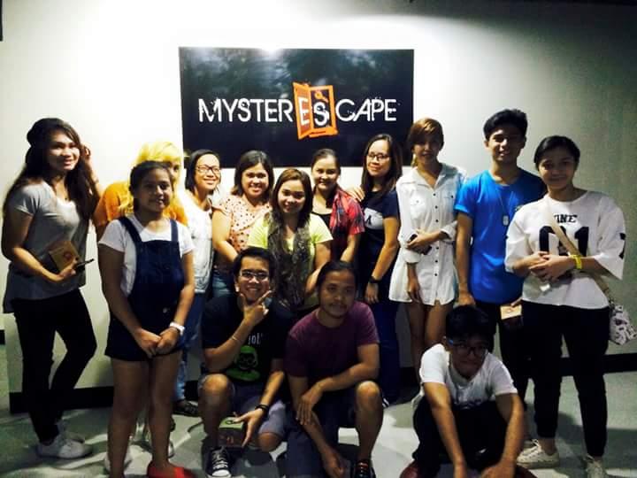 Davao Bloggers at MysterEscape Davao
